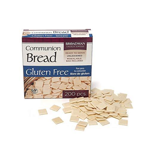 Broadman Church Supplies Communion Bread, Gluten Free, 200 Count