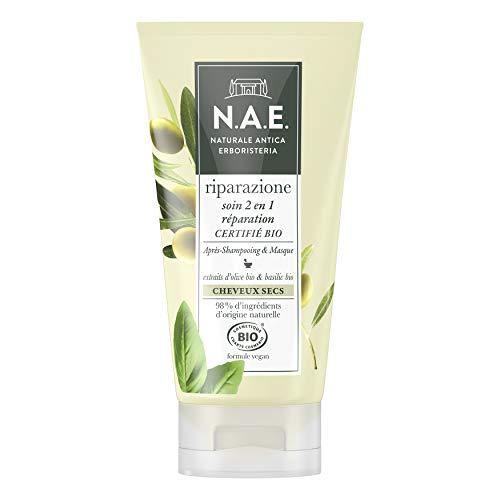N.A.E. - Soin 2 en 1 Après-Shampooing/Masque - Certifié Bio Formule Vegan - 150 ml