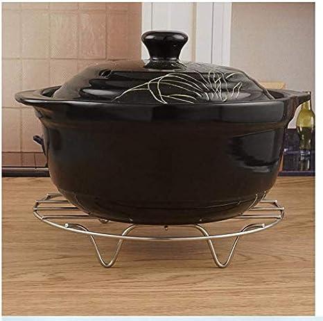 VSILE Steaming Cooking Racks Stainless Steel Round Baking Rack Canning Air Fryer