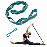 Elastic Bands for Exercise 9 Loop Stretching Strap for Flexibility Yoga Straps Resistance Bands Children Dance Latin Splits Training Workout Physical Therapy