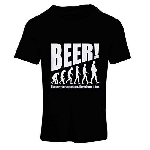 lepni.me Camiseta Mujer The Beervolution - Ideas Divertidas únicas sarcásticas del Regalo...