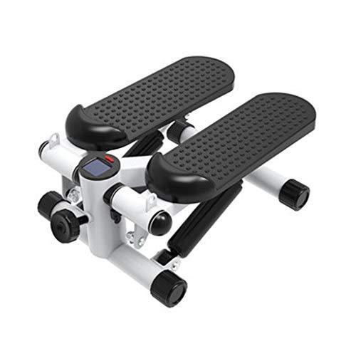 AHAI YU Escalera portátil Mini Fitness Hidráulica Stepper LED Pantalla Deportes Pérdida de Peso Mini Estufa Hidráulica Equipo de Fitness para principiantes y profesionales