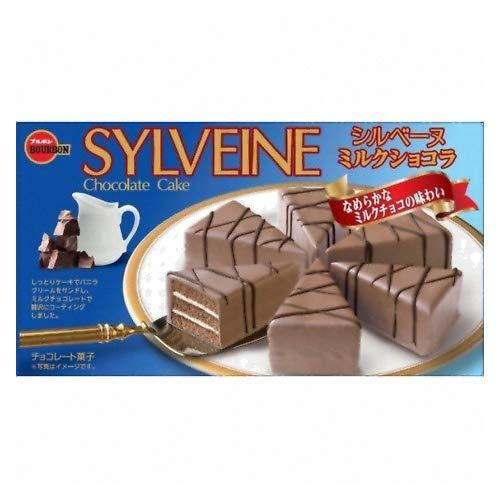 ブルボン シルベーヌミルクショコラ 6個 ×5個