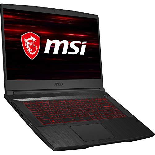 MSI GF65 Thin Gaming Laptop - 15.6' FHD IPS - 2.4 GHz Intel Core i5-9300H Quad-Core - GeForce GTX 1660 Ti (6GB GDDR6) - Win10 pro