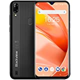 4G Mobile Phone, Blakview A60 Pro 3GB RAM+16GB ROM UK Version, Android 9.0, 6.1 Inch Waterdrop Display, SIM Free Smartphones Unlocked, Fingerprint, Face ID - Black