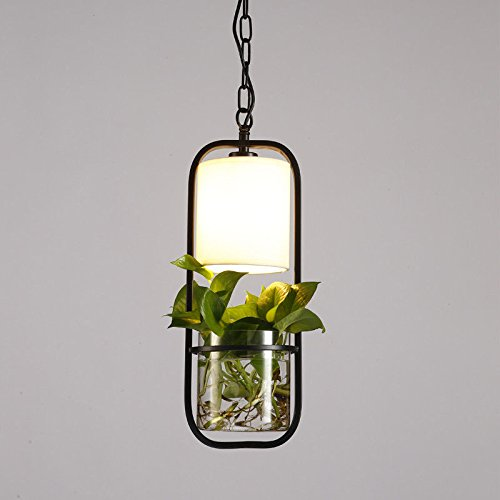 JJZHG Wandlamp, waterdicht, wandverlichting, nieuwe staande lamp, tafellamp, kroonluchter, creatieve verticale tafellamp, studie slaapkamer, plant, staande lamp met lichtbron, zonder groene plant