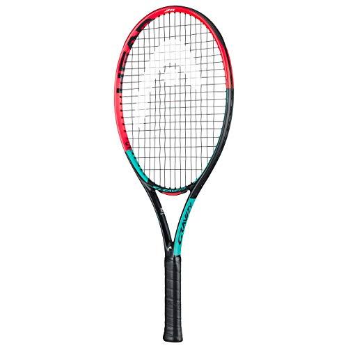 HEAD Unisex Jugend Gravity 25 Tennis Racket, mehrfarbig, 8-10 Jahre