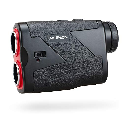AILEMON 6X Golf Range Finder with USB Cable, 1000 Yard Laser RangeFinder with Slope Stitch, Scan, Flagpole Lock, and Speed...