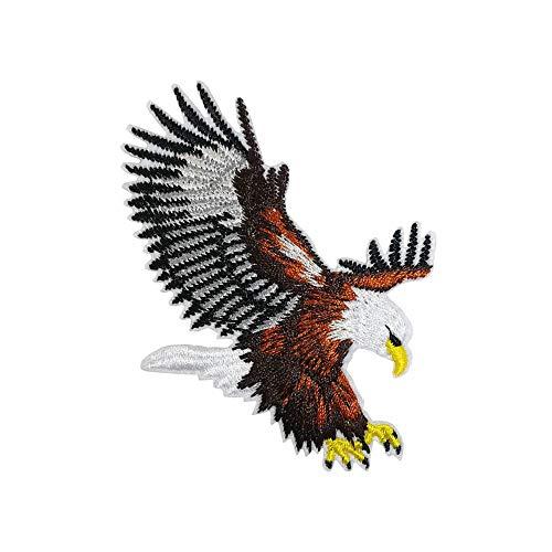 Cute-Patch Parches bordados de águila calva estadounidense para ropa al aire libre, insignia de animal,...