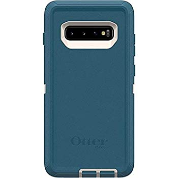 OtterBox Defender Series SCREENLESS Edition Case for Galaxy S10 Plus  Only - Case Only - Big SUR  Pale Beige/Corsair