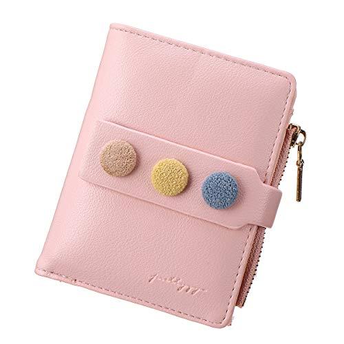 El pequeño Estilo de Billetera de PU para Damas, Bolsos de Cuero para Damas JOSEKO, es Generoso, Simple y fácil de Llevar.