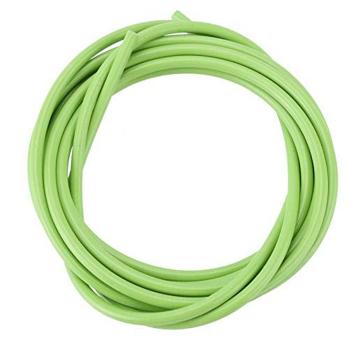 Alomejor Cable de Freno de Bicicleta, Cable de Cambio de Bicicleta de 3 m, Engranaje de Cambio de Bicicleta Que Incluye Tubo Exterior y Cable Interior para Bicicletas de Carretera MTB(Verde)