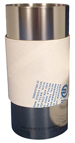 Precision Brand Products 22881 316 Stainless Steel Shim Stock, 0.001' x 6' x 12' (Pack of 2)