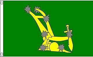 Starry Plough of Ireland Flag 3' x 5' - Irish Citizen Army Flags 90 x 150 cm - Banner 3x5 ft - AZ FLAG
