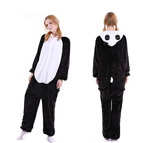 Zyuan Kigurumi Animal Pijama Mujeres Pijamas De Hombres Onesies De Dibujos Animados For Adultos Traje De Una Pieza del Mono De Los Hombres Traje De Cosplay ShanDD (Color : B, Size : Medium)