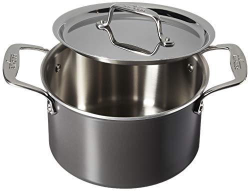 All-Clad LTD Cookware Soup pot, 4Qt, Black