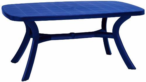 BEST 18519220 Tisch Kansas oval 192 x 105 cm, blau