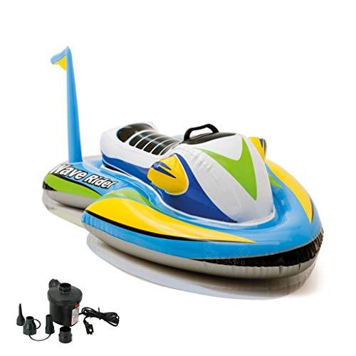 Enfants Surf eau Hamac Piscine Chaise longue Float hamac, multi-usage piscine gonflable flotteur, plage Fun Floaties, Party jouets de natation, piscine île, Piscine d'été Raft Salon for adultes et enf