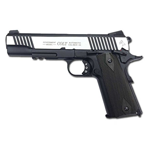 Colt Gun 1911 Dual, ENTIÈREMENT en MÉTAL, SOUFFLÉ Softair O.4 Joule - 180525