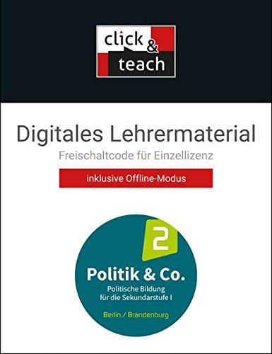 Politik & Co. – Berlin/Brandenburg / Politik & Co. BE/BB click & teach 2 Box: Sozialkunde und Politische Bildung / Digitales Lehrermaterial (Karte mit ... Sozialkunde und Politische Bildung)