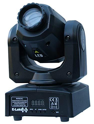 E-Lektron M004-30 30W LED Moving Head RGB Gobo koplamp DMX podiumverlichting lichteffect