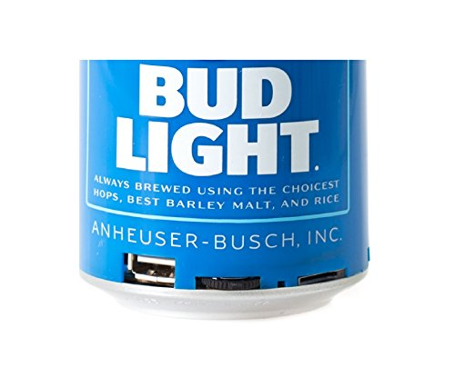 Bud Light Bluetooth Can Speaker- Wireless Audio Sound Stereo Beer Can, Bluetooth Bud Light music player 5