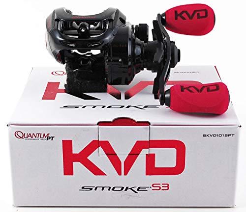 Quantum KVD Smoke S3 SKVD101SPT 6.1:1 Baitcast Reel Left Hand