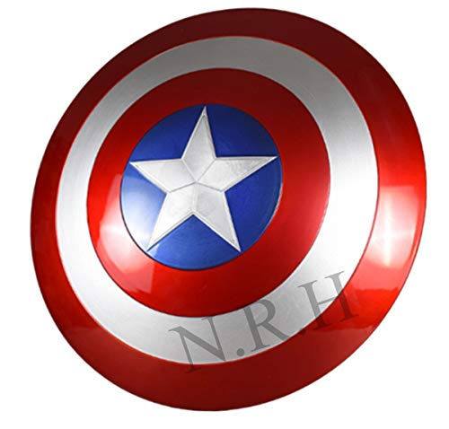 Nautical Replica Hub Replik Nabe Mittelalter Avengers Armor Marvel Captain America Shield 61 cm rot