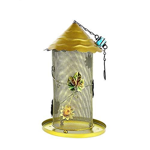 Betty creatieve draad mesh vogel Feeder opknoping spinnen vogel feeder