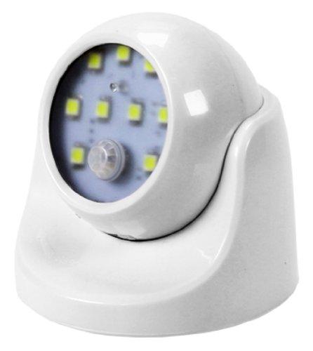 LED Lampe mit Bewegungsmelder 180 Grad schwenkbare FR für den Überdachten Bereich wie Keller,Flur,Treppenhaus und sonstiges