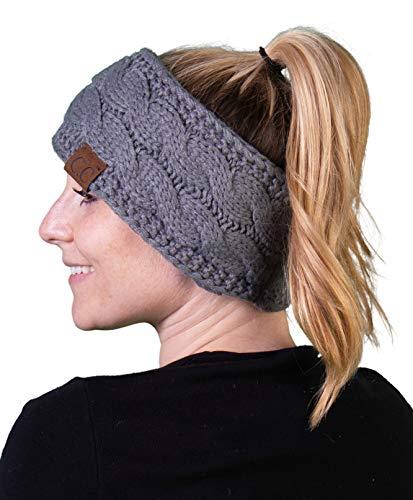 Headwrap -Solid Heather Grey
