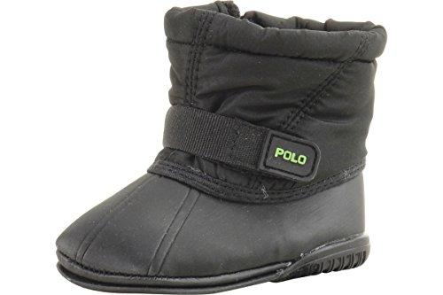 Ralph Lauren Polo Boots Whistler Infant Boy's Black Shoes (1)