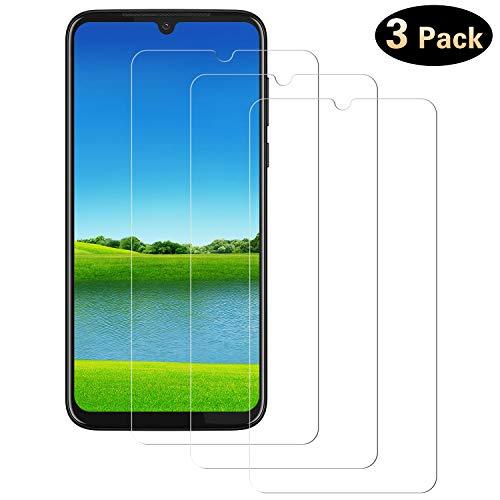 DOSMUNG Panzerglas für Motorola Moto G8 Plus [3 Stück], 9H Härte Panzerglasfolie Anti-Kratzen, Anti-Öl, Anti-Bläschen, Ultra Transparenz Full HD Schutzfolie für Moto G8 Plus