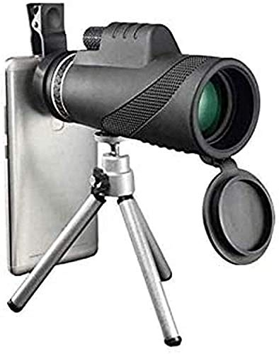MAZ Telescopio Monocular Starscope, 4K 10-300X40Mm Telescopio Monocular de Zoom Super Teleobjetivo Portátil con Soporte para Teléfono Inteligente Telescopios Trípode, Regalo de Birtay, Regalo de Boy