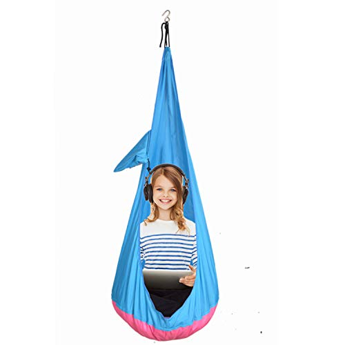 YYYlight Child Sitting Hammock,Swing Chair Hanging Seat Hammock for Indoor and Outdoor Use (Without Cushion)