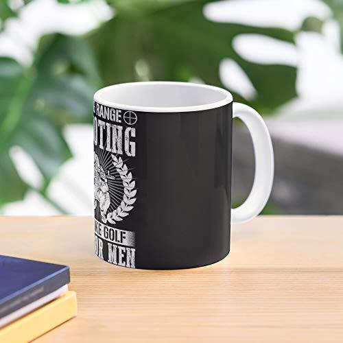 Sniper Shooter Novelty Rifle Range No Long Hobby Scope Best 11 Ounce Ceramic Coffee Mug Gift