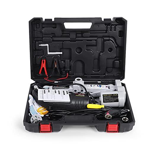 Ticfox Portable 12V Car Jack 3-T Electric Jack Auto Lift Scissor Herramienta automática de reparación de automóviles