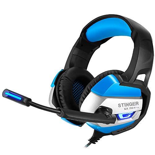 Woxter Stinger GX 250H–Écouteurs Gaming Retro-eclairage RGB 7.1