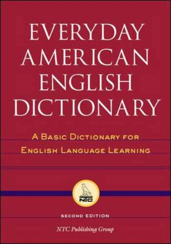 english dictionaries Everyday American English Dictionary : A Basic Dictionary for English Language Learning
