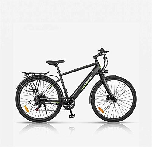 RDJM Bici electrica, Bici de montaña eléctrica for Adultos, Bicicleta eléctrica de la aleación de Aluminio de la aleación de Aluminio de la batería de Litio 36V, con la Pantalla LCD multifunción