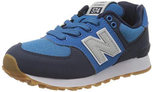 New Balance Jungen 574v2 Sneaker, Blau (Blue DMB), 32 EU