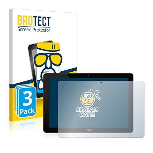 BROTECT Protector Pantalla Cristal Mate Compatible con SPC Gravity Octacore Protector Pantalla Anti-Reflejos Vidrio, AirGlass (3 Unidades)