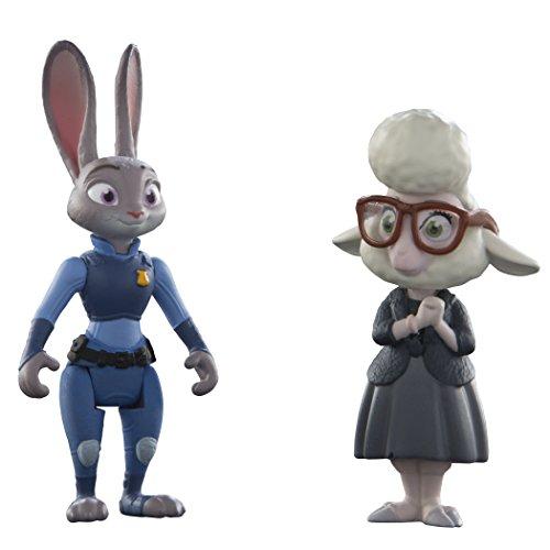 Zootropolis - Pack 2 Figuras de Judy Hopps & May Bellwether (Bizak 30690901)