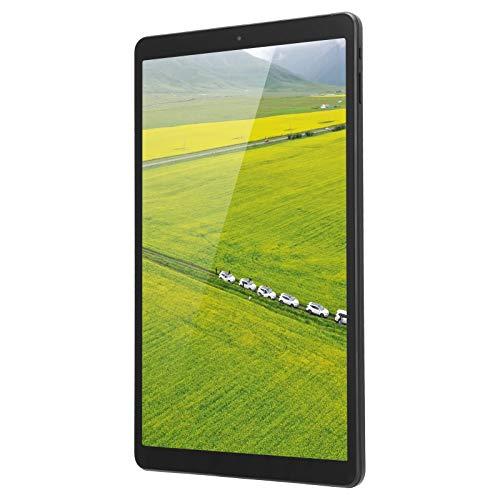 Tablet PC 10.1In para Android 10.1In 6000Mah Batería de Gran Capacidad Tablet PC WiFi de Banda Dual 2.4G + 5G, CPU de 8 núcleos y 6 GB de Memoria en Funcionamiento(Enchufe Europeo (100-240 V))