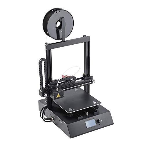 Canness-Accessories Auto Leveling DIY imprimante 3D avec Fonction d'impression CV Petit modèle stéréo imprimante de qualité Industrielle imprimante de Bureau (Couleur : Noir, Taille : 45x42x71cm)