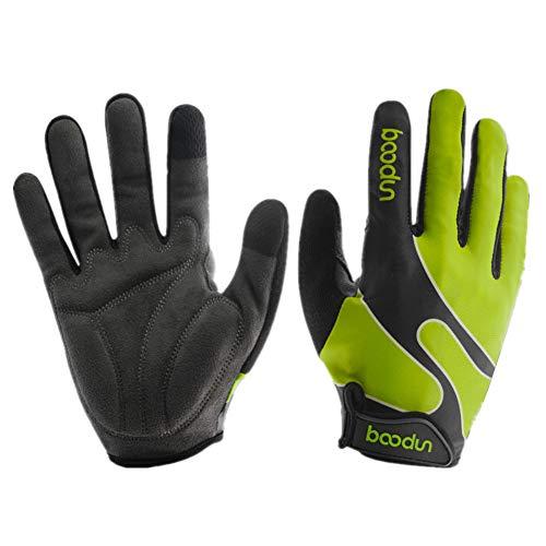 Fahrrad Handschuhe Fahrrad Handschuhe Herren Handschuhe Männer Taktische Handschuhe Rennrad Handschuhe Winterhandschuhe Zum Radfahren Bikerhandschuhe Für Männer Green,l