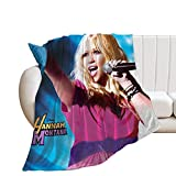 GDBA Hannah Montana Ultra-Soft Micro Fleece Throw Blankets for Home Couch Bed Sofa Cozy Warm Lightweight Decorations 3D Printed Blanket 50'X40'