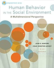 Brooks/Cole Empowerment Series: Human Behavior in the Social Environment (SW 327 Human Behavior and the Social Environment)