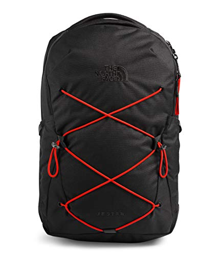 The North Face Women's Jester Backpack, TNF Black/Flare, One Size