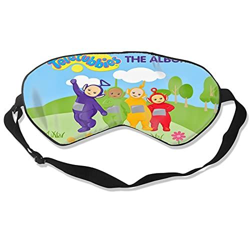 Teletubbies Augenbinde Schlafmaske Schattierung Weiche Augenmaske Polyester Bequem Und Atmungsaktiv Verstellbarer Riemen